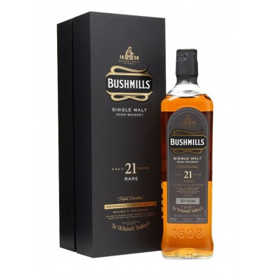 Bushmills 21 Year Old Single Malt Irish Whiskey (70cl)
