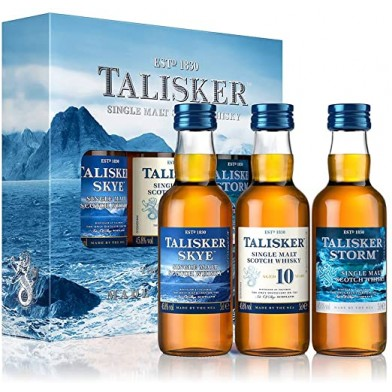 Talisker Miniature Gift Pack (3x5cl)