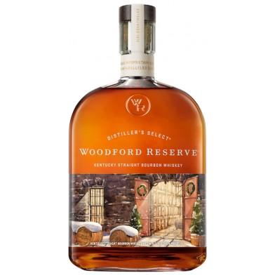 Woodford Reserve Bourbon 'Winter Slumber' Special Edition Whiskey (70cl)