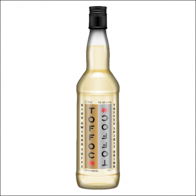 Welsh Toffoc Vodka (70cl)