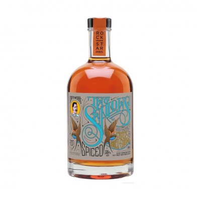 Two Swallows Spiced Rum (70cl)