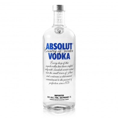 Absolut Vodka (70cl)