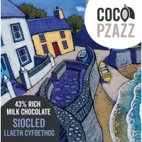 Coco Pzazz 43% Rich Milk Chocolate Bar (80g)
