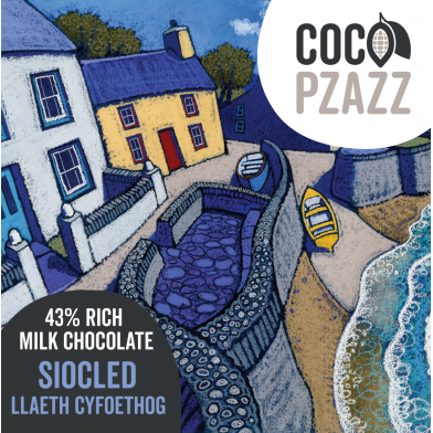 Coco Pzazz Rich Milk Chocolate Bar (80g)
