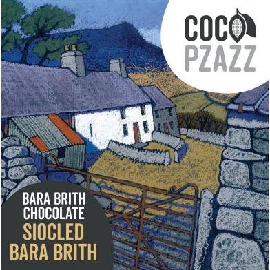 Coco Pzazz Bara Brith Milk Chocolate Bar (80g)