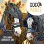 Coco Pzazz Fox & Boo (Horses) 70% Dark Chocolate Bar (80g)
