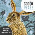 Coco Pzazz Fox & Boo (Hare) Sea Salt Caramel Chocolate Bar (80g)