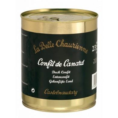 Confit De Canard (Duck Confit) 800g (Two/Three Portion Tin)