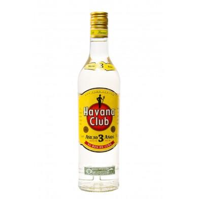 Havana Club Añejo 3 Year Old White Rum (70cl)