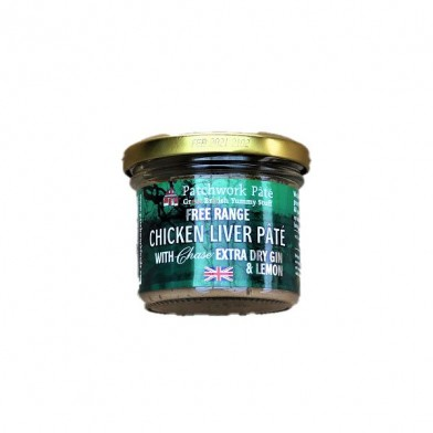Patchwork Pate Free Range Chicken Liver Pâté with Chase Extra Dry Gin & Lemon (90g)