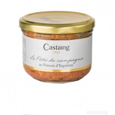 Country Pate with Espelette Pepper 180g Castaing