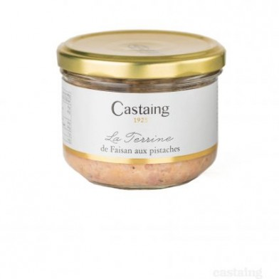 Pheasant Terrine with Pistachios (180g) Castaing