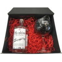 Mumbles Gin 70cl Bottle with Glass in Gift Box