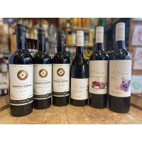 Vegan Mixed Case of 6 Red Wines