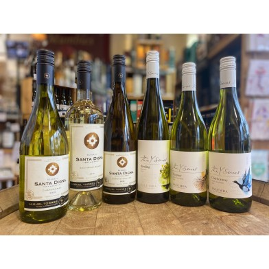Vegan Mixed Case of 6 White Wines