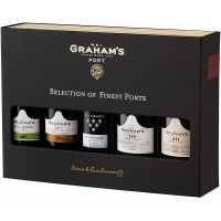 Graham's Selection Of Finest Ports (5 x 5cl)