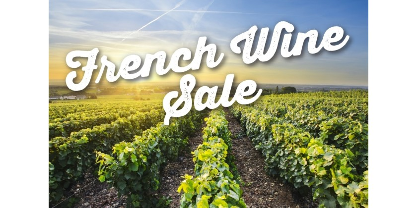 French Wine Sale
