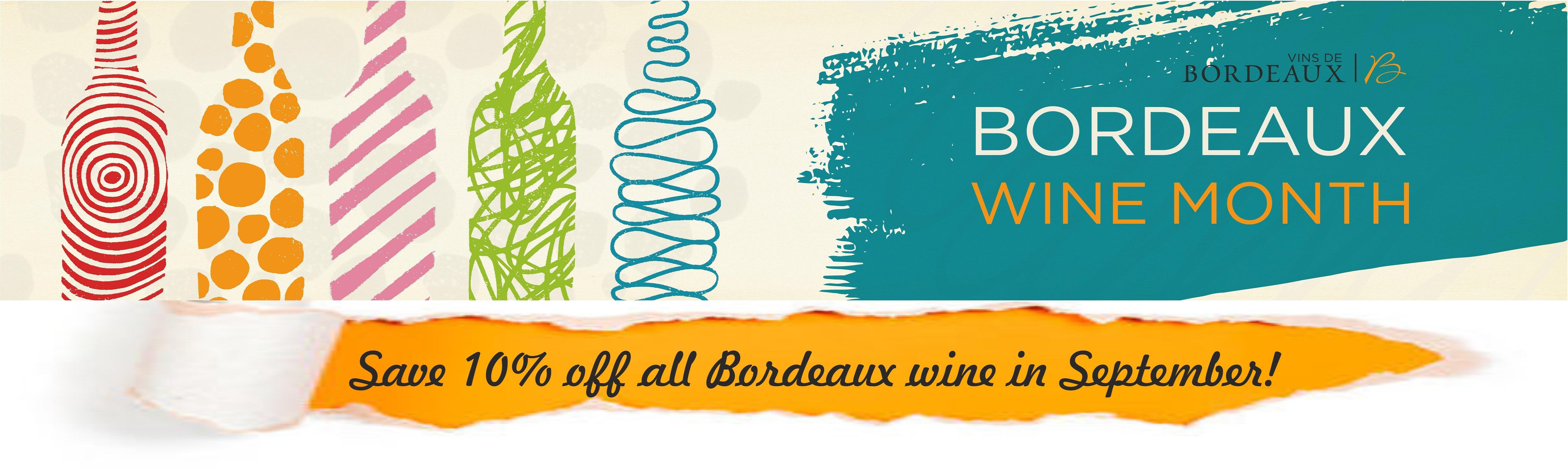 Bordeaux Wine sale