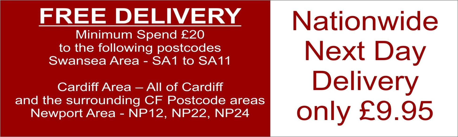 Local & Nationwide Delivery